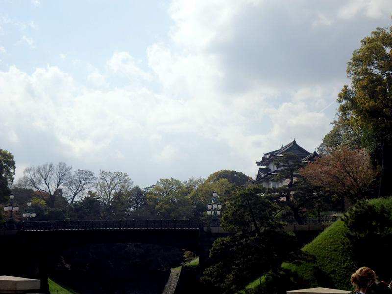 Portão próximo ao palácio Imperial de Toquio