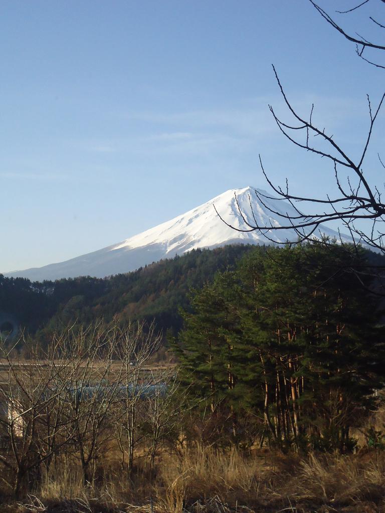 vista para o Monte Fuji do lago Kawaguchiko