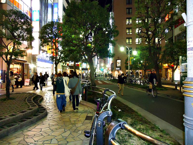 ruas de Ikebukuro