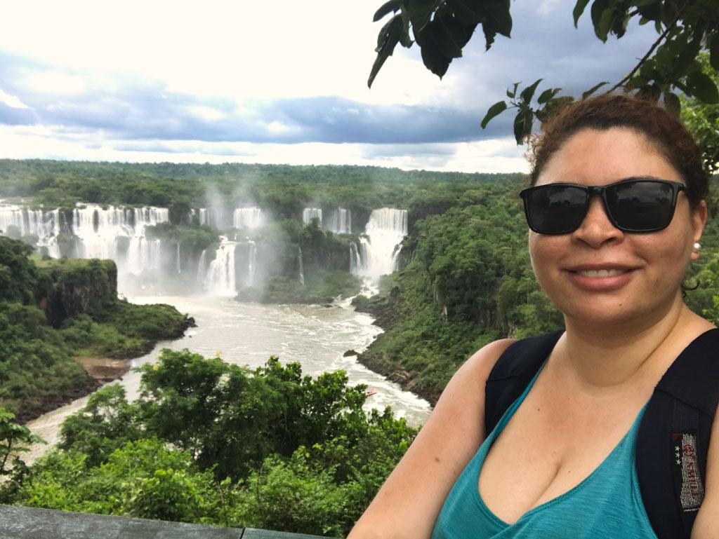 Essas cataratas ficam no lado argentino