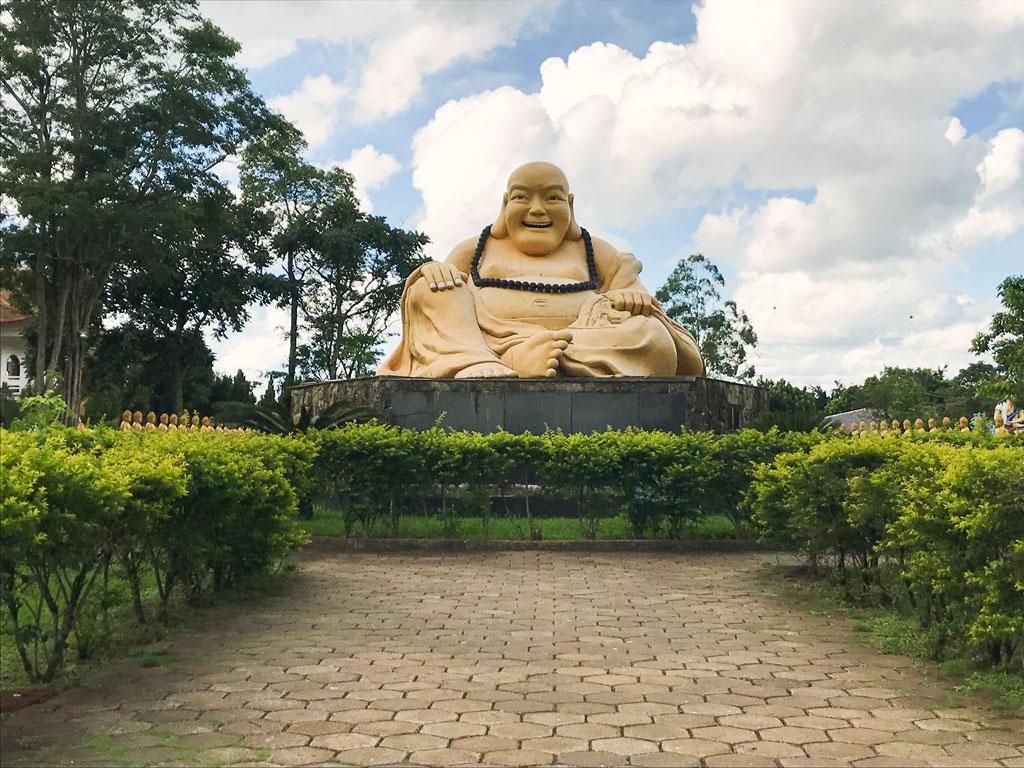013 Buda sorridente