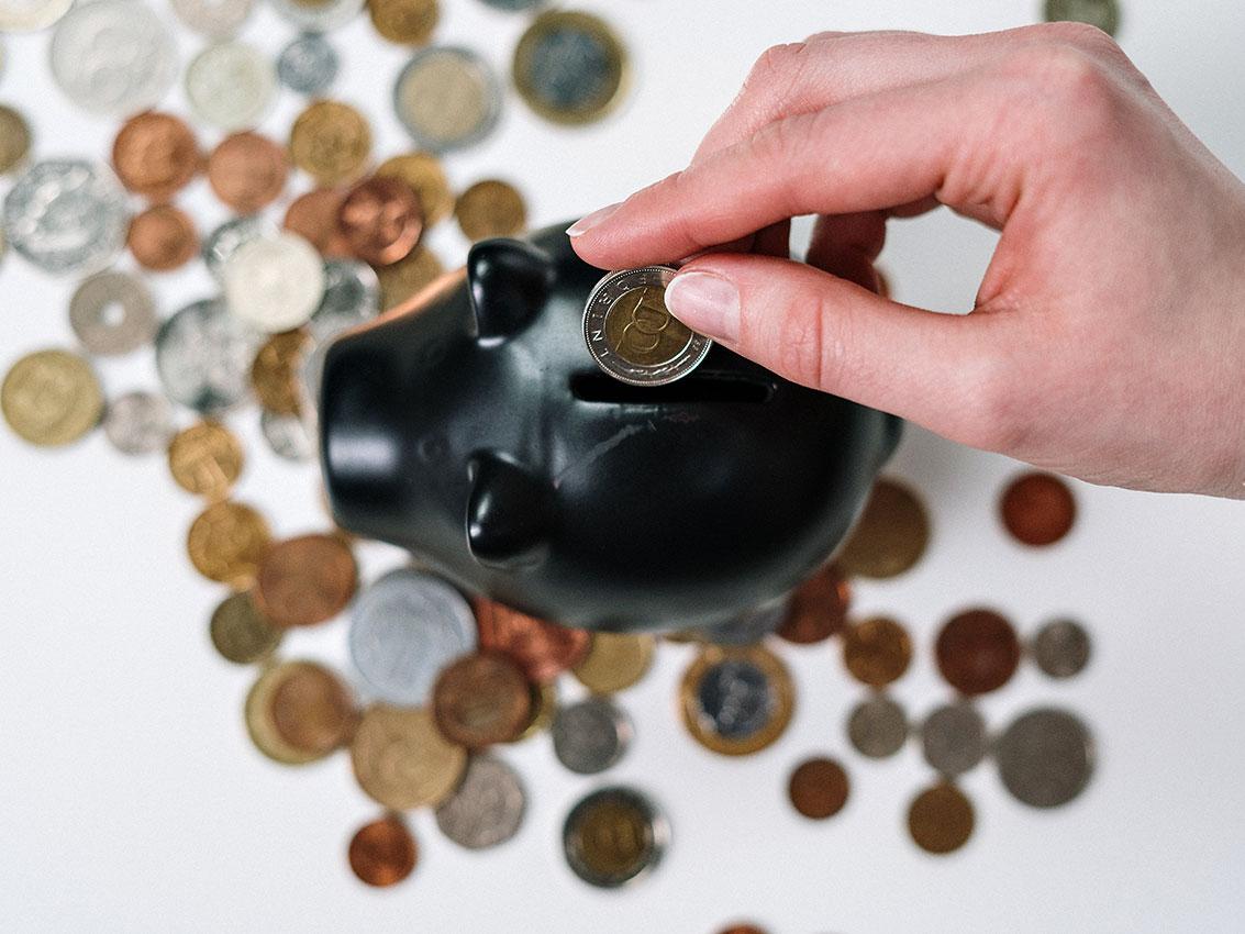 Cofre porquinho - dinheiro trabalhar para você